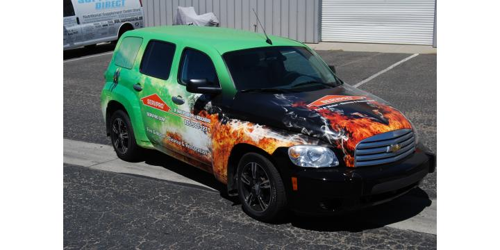 SERVPRO of Atascadero/Paso Robles- restoration atascadero- vehicle
