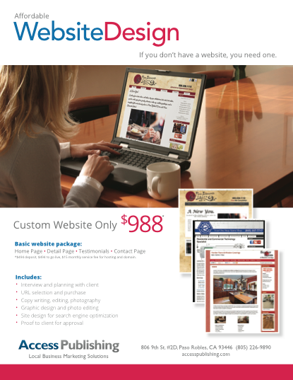 web design paso robles